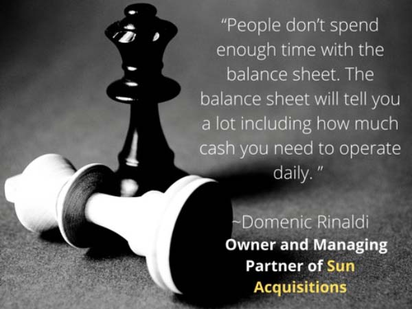 Read the Balance Sheet Thoroughly when Acquiring a Business